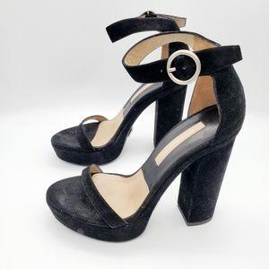 Michael Kors size 37 suede heels